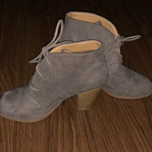 Maurice's Booties Taupe